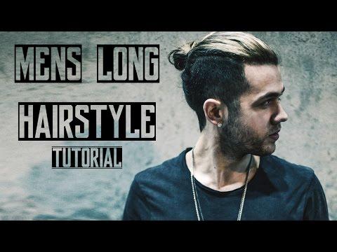 Mens Long Hair Style 2016 | Tutorial | Quiff & Man Bun