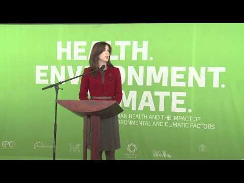 Princess Marie of Denmark opens Health - Environment - Climate exhibit (Danish/English)