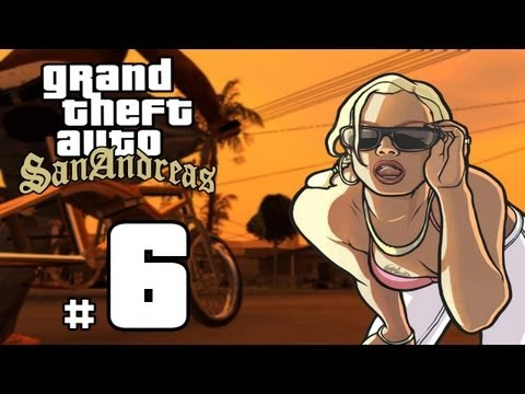 Let's Play GTA San Andreas HD - # 6 - VENDETTA!! - ICEnhancer ENB
