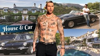 Adam Levine's House Tour 2019 (Inside and Outside) | Adam Levine's Car Collection 2019