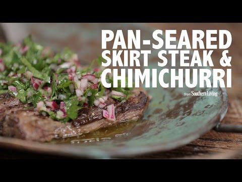 how-to-make-pan-seared-skirt-steak-&-chimichurri-|-cooking-tutorial