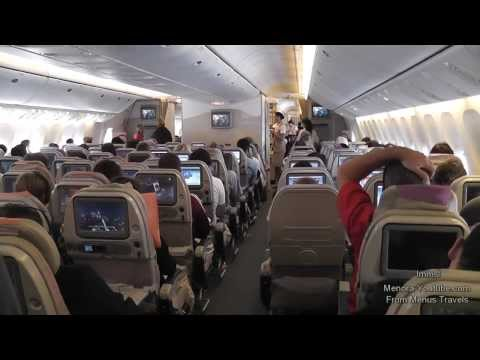 Emirates Boeing 777-300ER Amazing Landing in Dubai With A Crew From 12 Countries- Part 1