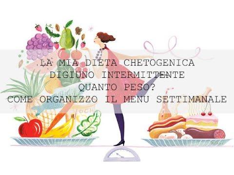 LA MIA DIETA CHETOGENICA | DIGIUNO INTERMITTENTE | QUANTO PESO? | COME ORGANIZZO IL MENU SETTIMANALE