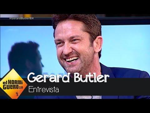 """Gerard Butler: """"En la boda de mi hermano me empapé la falda escocesa de pis""""- El Hormiguero 3.0"""