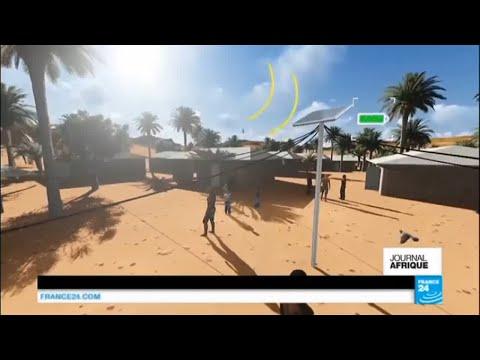 L'énergie en Afrique, des lampadaires solaires indépendants en Casamance