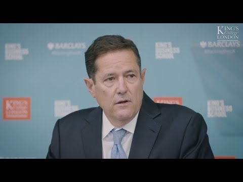 Barclays Chief Executive Jes Staley: How we can boost the UK's export performance