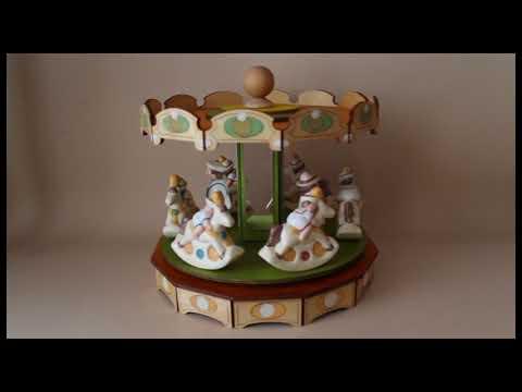 GRAN GIOSTRA CAVALLI carillon (Melodia: CAN CAN, Hoffenbach)