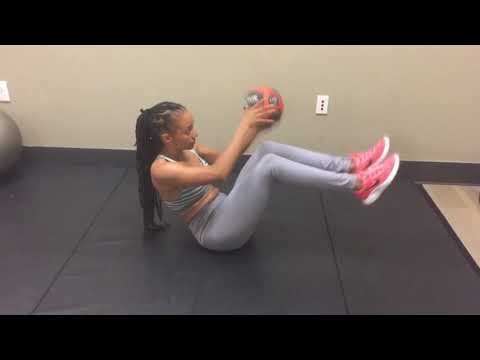 Ab Core Exercises With Medicine Ball For Vegan Women And Moms