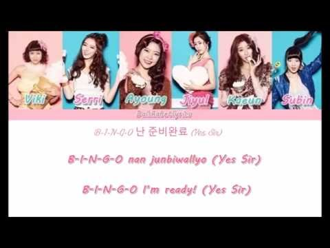 Dalshabet (달샤벳) - Hottie / Very Charming - Member Coded Lyrics (Han/Rom/Eng)