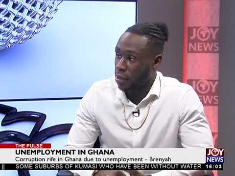Unemployment in Ghana - The Pulse on JoyNews (5-10-18)