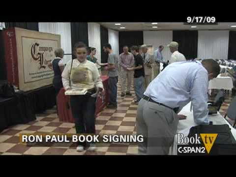"Book TV: Ron Paul, ""End the Fed"" Book Signing Vingette"