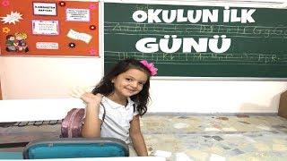 MASALIN OKULDA İLK GÜNÜ !! OKUL RUTİNİ! Masal Back To School Morning Routine!