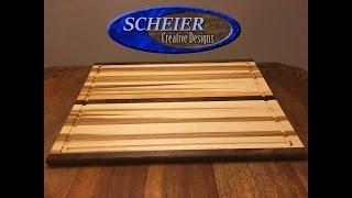 Make a Large Cutting Board / DIY Woodworking