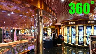 Carnival Splendor Tour 360˚ Deck 5 - Fun Shops