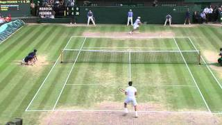 Federer VS Roddick - Wimbledon 2009 Final Highlights (HD)