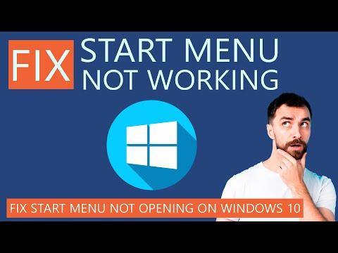 How to Fix Start Menu Not Working on Windows 10?
