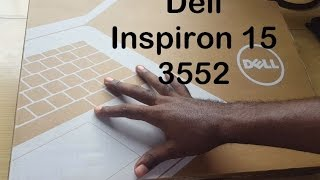 Dell Inspiron 15 3552 Unboxing and Review