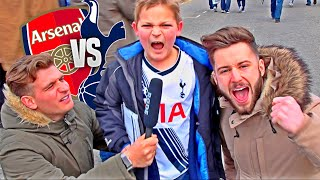 Asking Tottenham Kids Why They HATE Arsenal!