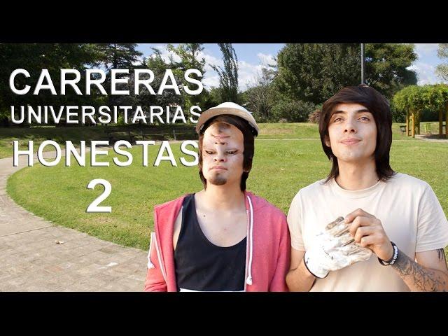 CARRERAS UNIVERSITARIAS HONESTAS 2