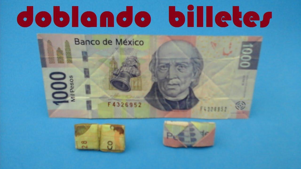 Como doblar un dolar para la buena suerte como doblar - Como quitar la mala suerte ...