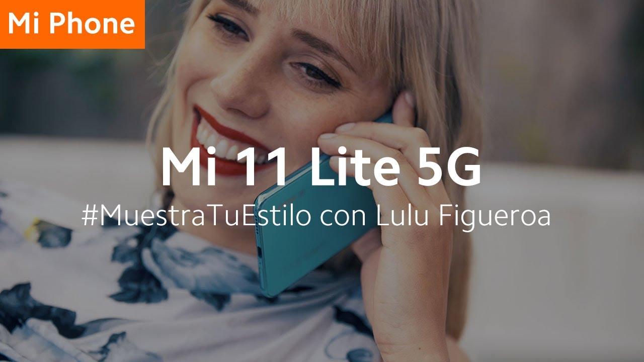 #Mi11Lite5G   #MuestraTuEstilo con Lulu Figueroa, pintora de obras llamativas y vibrantes