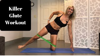 Killer Glute Workout With Just A Band!
