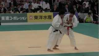 高井洋平 VS 斎藤俊 二回戦 2012 全日本柔道選手権大会