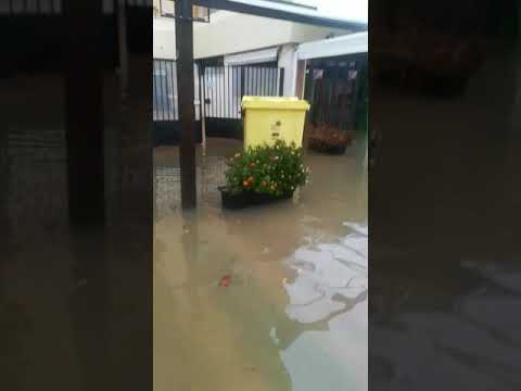 Destrozos en La Antilla por las lluvias