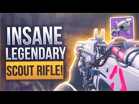 "Destiny NEW LEGENDARY SCOUT RIFLE ""CHAOS DOGMA"" - Destiny New Raid Scout Rifle"