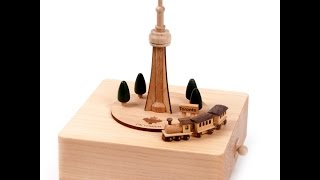 Wooderful Life Music Box - Cn Tower