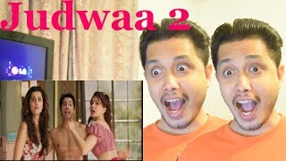 Judwaa 2 Official Trailer Reaction | Varun Dhawan | Double The Laughter Guarantee