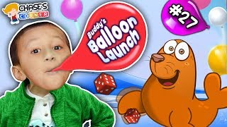 Chase's Corner: Buddys Balloon Launcher Unboxing Challenge (#27) | DOH MUCH FUN