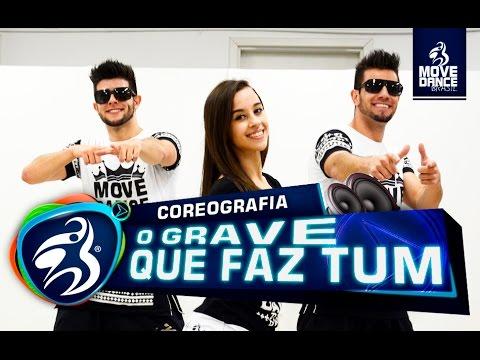 MC Davi e MC Kevinho - O Grave que faz tum - O Beat tata tum tum - Move Dance Brasil - Coreografia