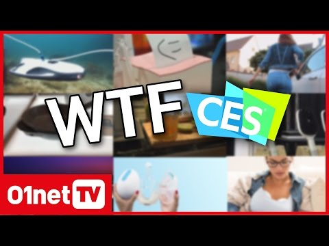 CES 2017 : 8 innovations insolites #WTF