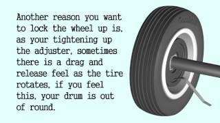 Adjust Drum Brakes