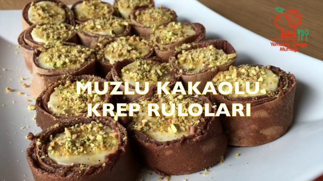 Muzlu Kakaolu Krep Tarifi