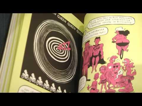 libro a fumetti su Freddy Mercury 19112016