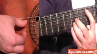 clases de guitarra ejercicio de arpegio parte 1