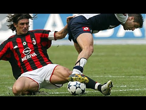Paolo Maldini ● A Time When Defenders Could Defend ||HD||