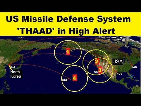 US Missile Defense Sites are Protecting with 'THAAD' Anti System