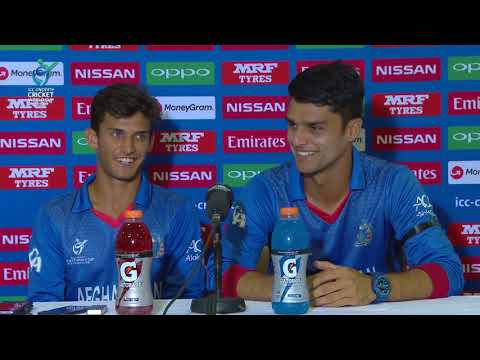 Cricket World TV  Afghanistan Captain and Player of the Game  ICC u19 World Cup 2018
