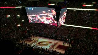 2015 NBA Finals Game 3 Complete Intro Cavs vs Warriors 6.9.15 Rascal Flatts National Anthem