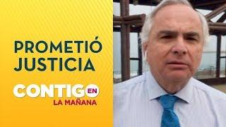 Andrés Chadwick prometió encontrar a culpables de muerte de bebé por balazo - Contigo en La Mañana