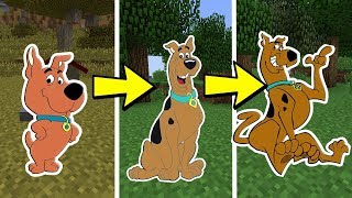 CICLO DE VIDA DO SCOOBY-DOO l E SE FOSSE REAL? - MINECRAFT SCOOBY-DOO