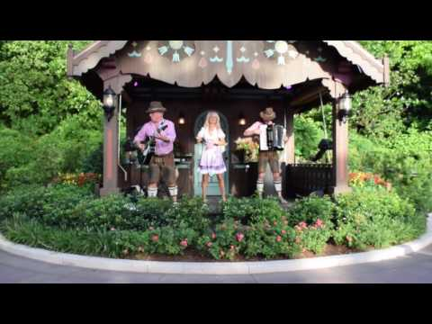 New Germany Pavilion Entertainment at Epcot - Margaret Almer & The Bavarian Band
