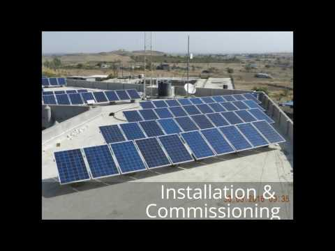 Our Services - VIBENSOL Energy LLP - On-grid Solar Rooftop System
