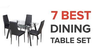 7 Best Dining Table Sets in India