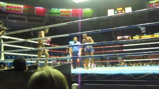 Muay Thai Boxing Knock Out in Bangkok at Rajadamnern Stadium