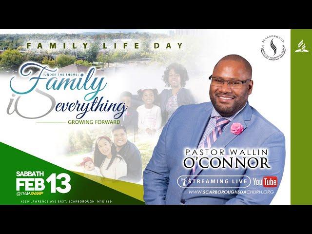 Sabbath Service    Family Life Day    February 13, 2021