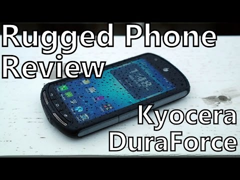 Smartphone Review: Kyocera DuraForce on AT&T - Rugged and Waterproof Android!